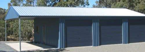 metal backyard shed buildings