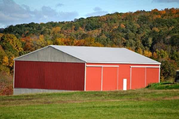 60x40 metal farm storage barn