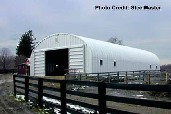 60x40 quonset farm barn
