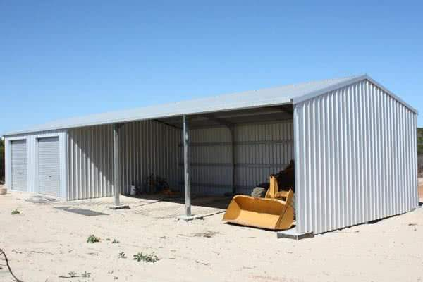 steel sheds for animal feed