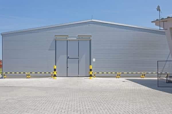 60x80 pre-engineered Warehouse