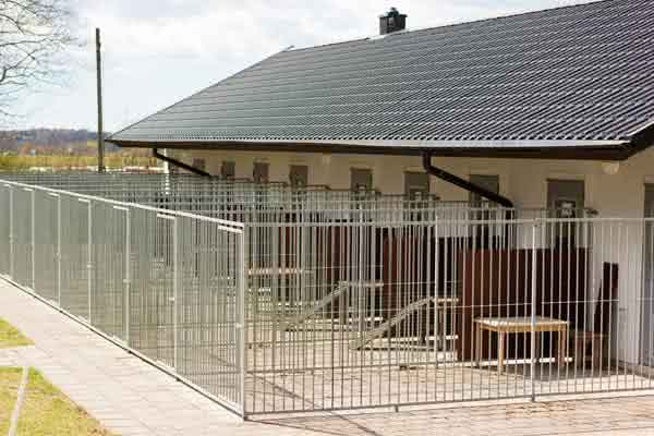 Pre-engineered metal dog kennel buildings