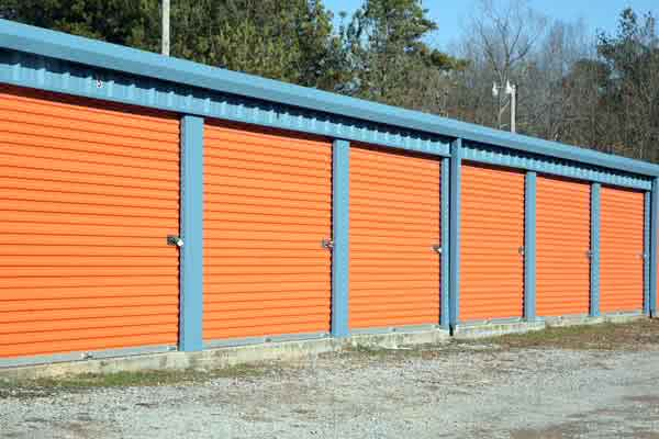 Metal Mini Warehouse Building