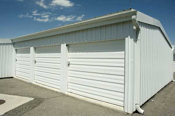 Steel Self Storage Units