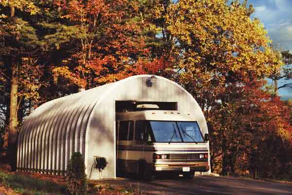 20x30 Quonset Hut RV Garage