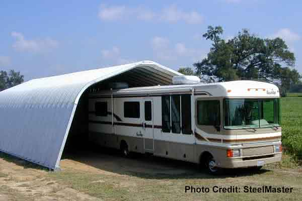 20x30 Quonset RV Garage