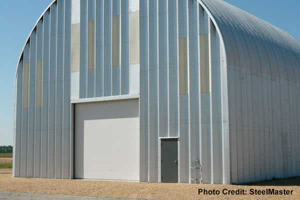 Quonset Warehouse building