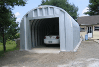 Photo Gallery For Residential Steel Quonset Hut Buildings