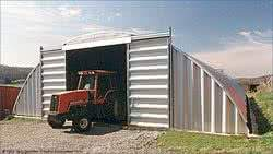agricultural storage building