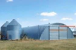quonset farm storage building