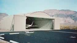 quonset hangar building