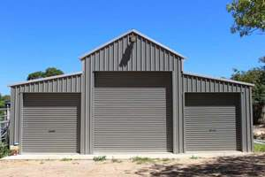 40x60 Garage Building in Steel
