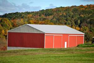 40x60 Metal Barn Building