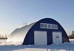 Q Model Quonset Hut Building