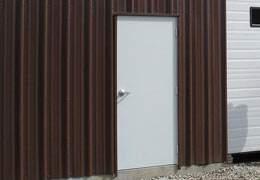 standard metal building walk door