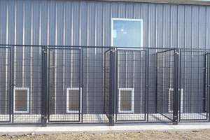 kennel exterior runs