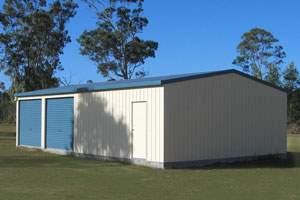 20x40 prefab metal shop kit building