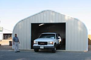P-Style Quonset garage kit