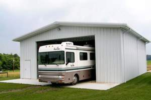 RV garage kit