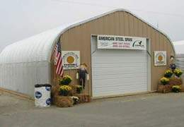 Commercial Quonset Hut Building