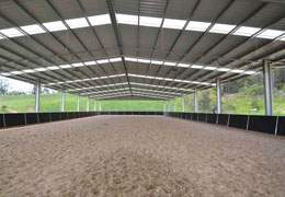 70x200 Metal Riding Arena