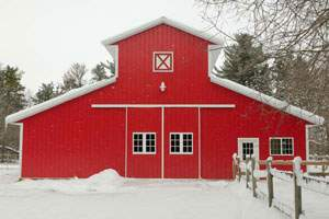 40x60 Metal Horse Barn Building