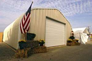 P-Model Quonset Shop