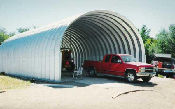 Basic Quonset Garage
