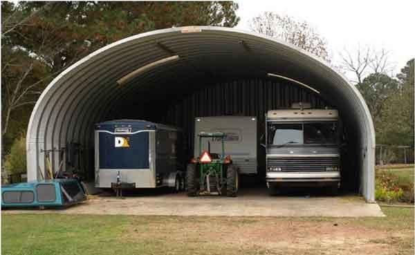 S Model RV Garage