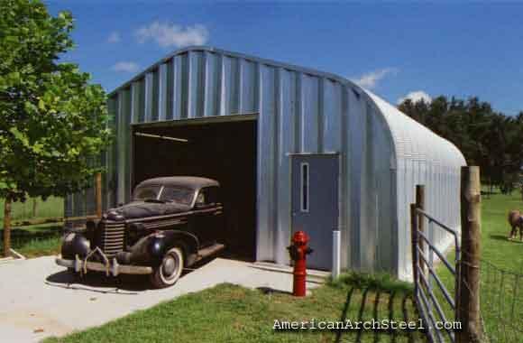 20x20 Quonset Garage P-Model