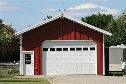 30x30 Single Car Garage