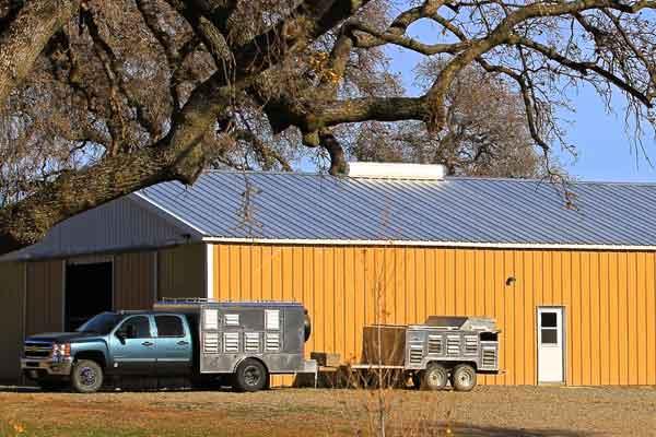 Large Hay Barn