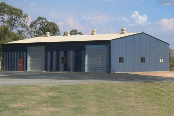 Prefab farm storage building
