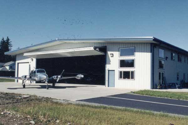 80x100 Private Hangar