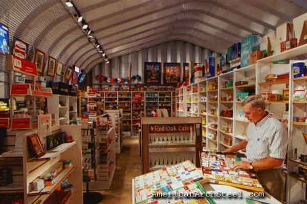 Quonset Retail Store