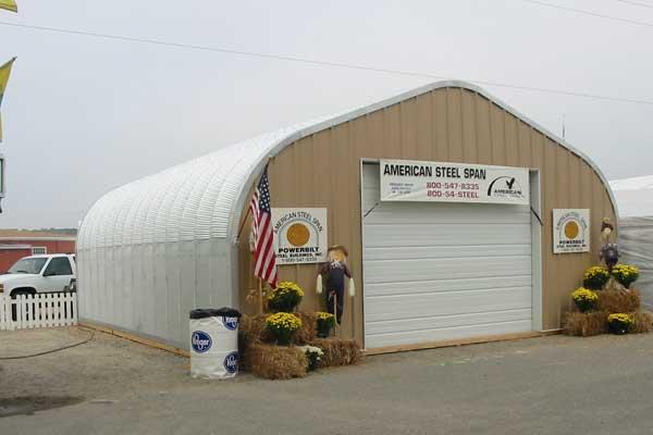 P-Model Quonset Storage Building
