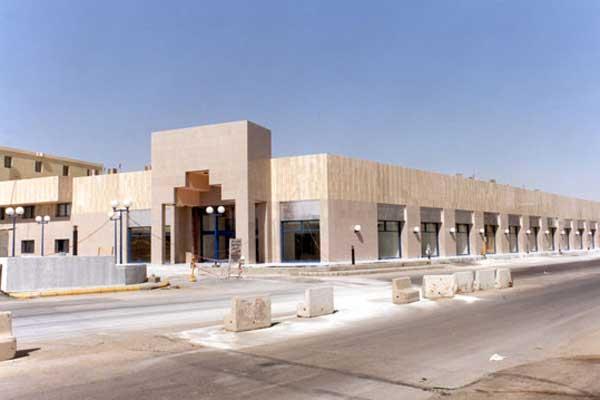 Clad Steel Retail Building