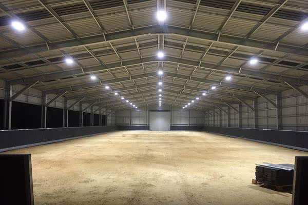 Photo Gallery Of Steel Barn Riding Arena And Farm Storage