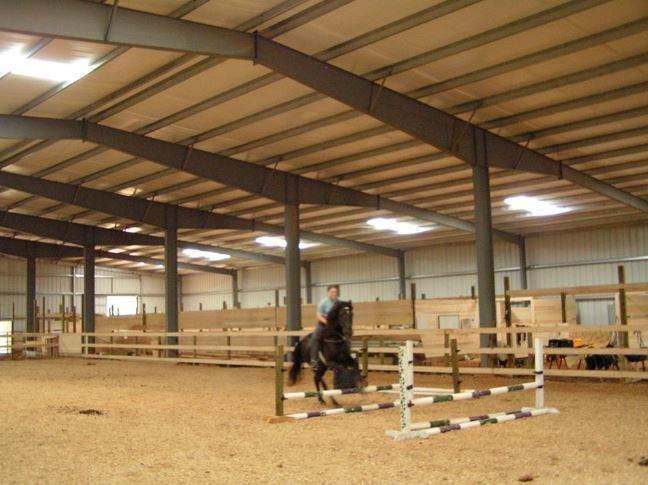 70x200 riding arena