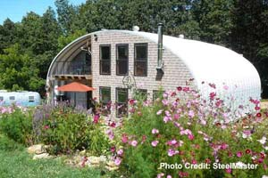 3 bedroom Quonset house in metal