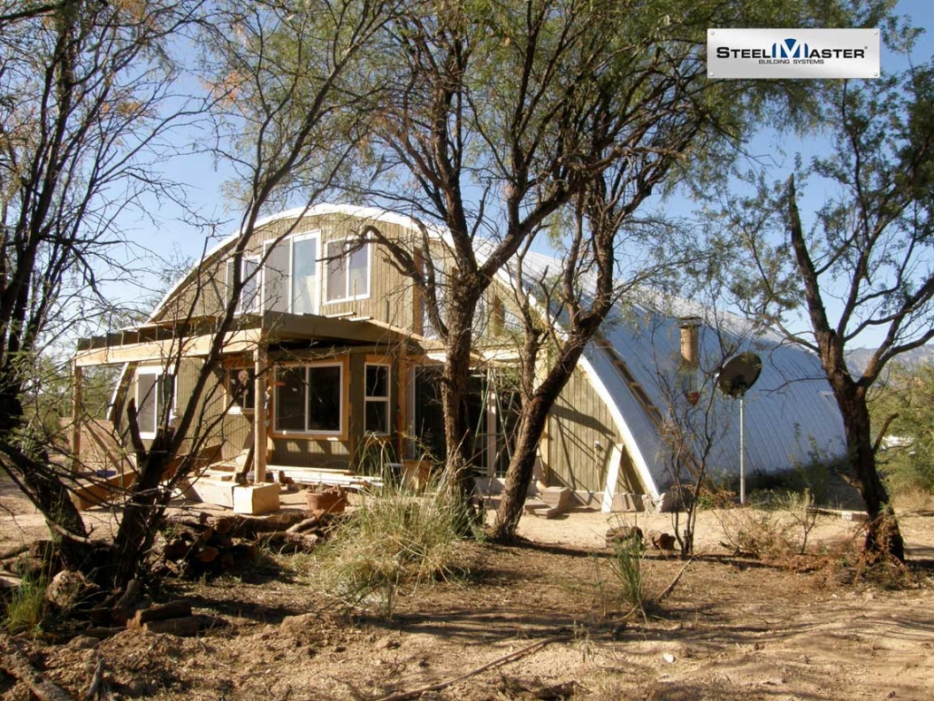 80x60 Quonset House